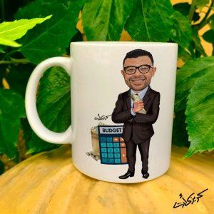 Mug caricature Accountant مج كاريكاتير