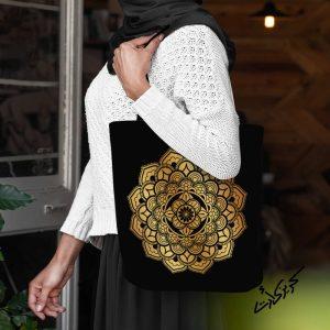 Shoulder bag شنطة كتف ماندلا اصفر