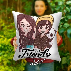 Cushion friends forever مخدة