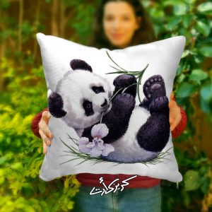 Cushion panda مخدة